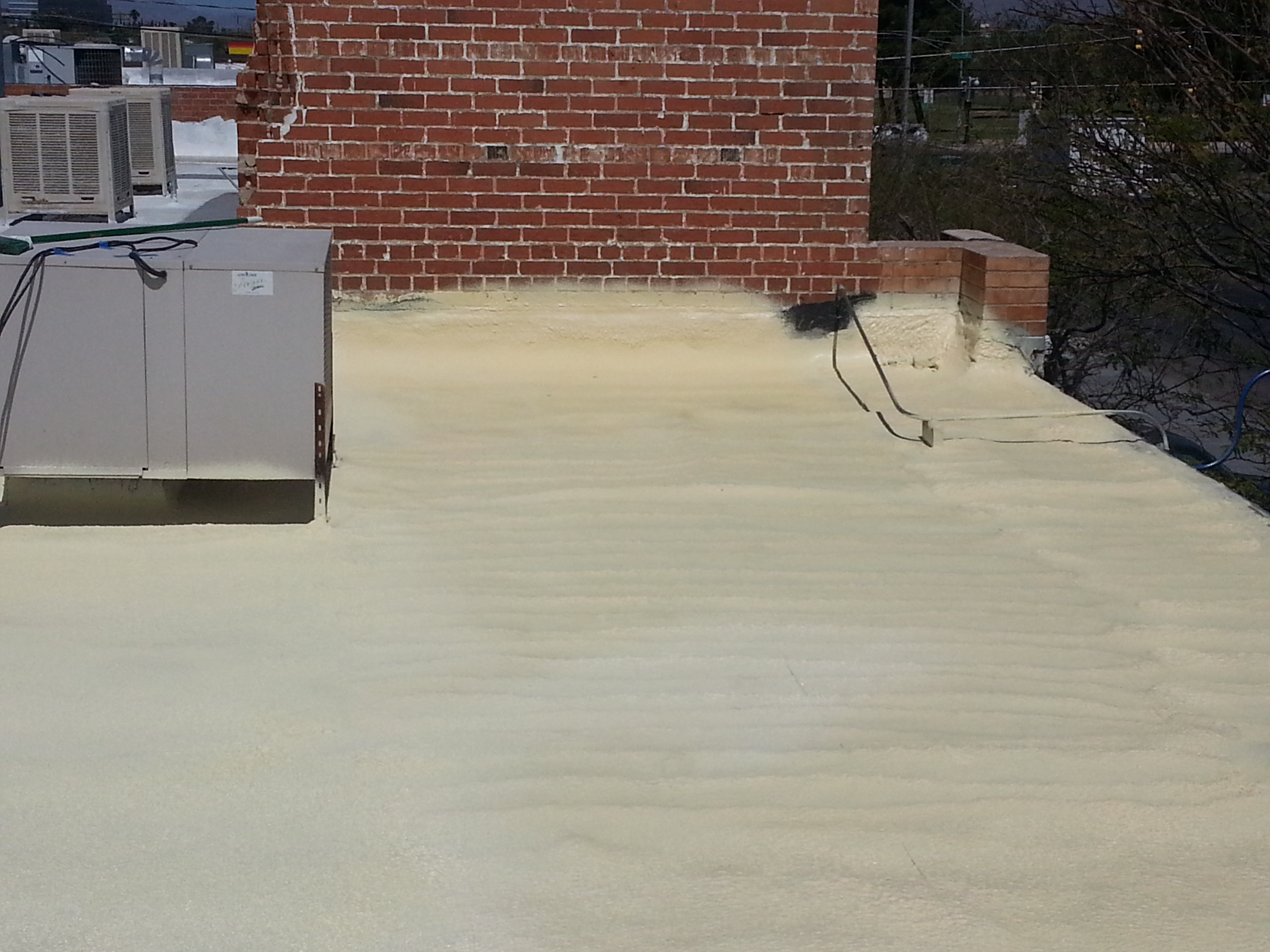 One Of The Great Advantages To Spray Roofing Foam, Over Other Types Of  Products, Is Its Ability To Create An Air Tight, Leak Free Seal. Spray Foam  ...
