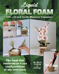 liquid floral foam product