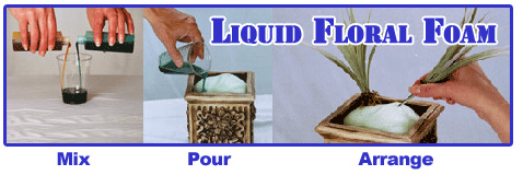 liquid floral foam use