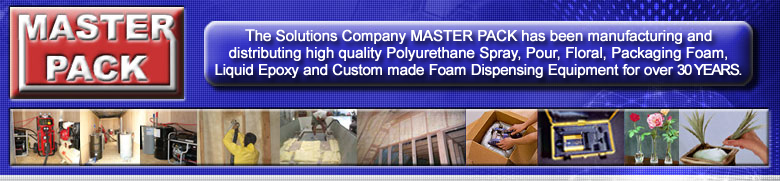 Master Pack spray foam insulation